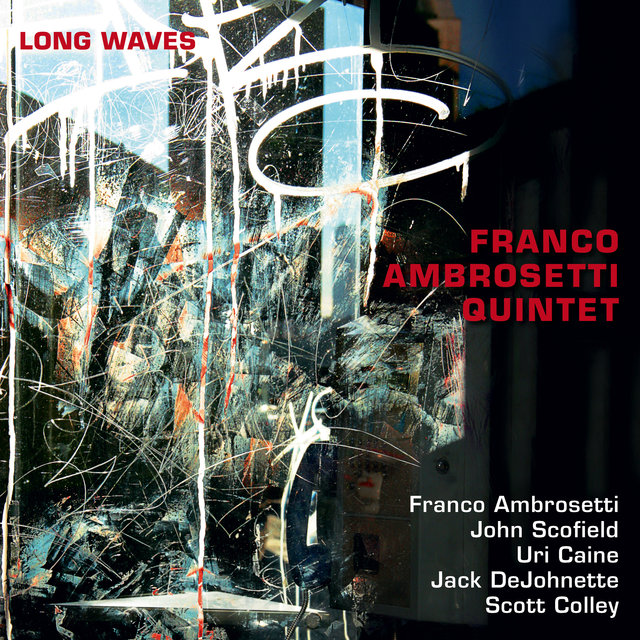 Cover art for album Long Waves by Franco Ambrosetti Quintet