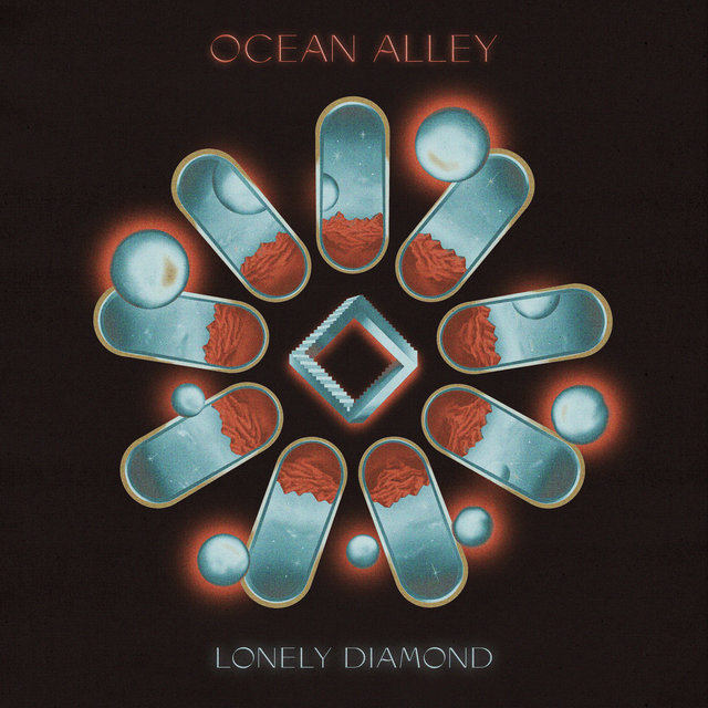 Cover art for album Lonely Diamond by Ocean Alley
