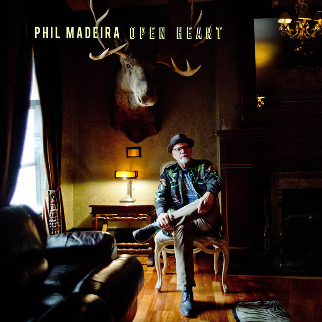 Cover art for album Open Heart by Phil Madeira