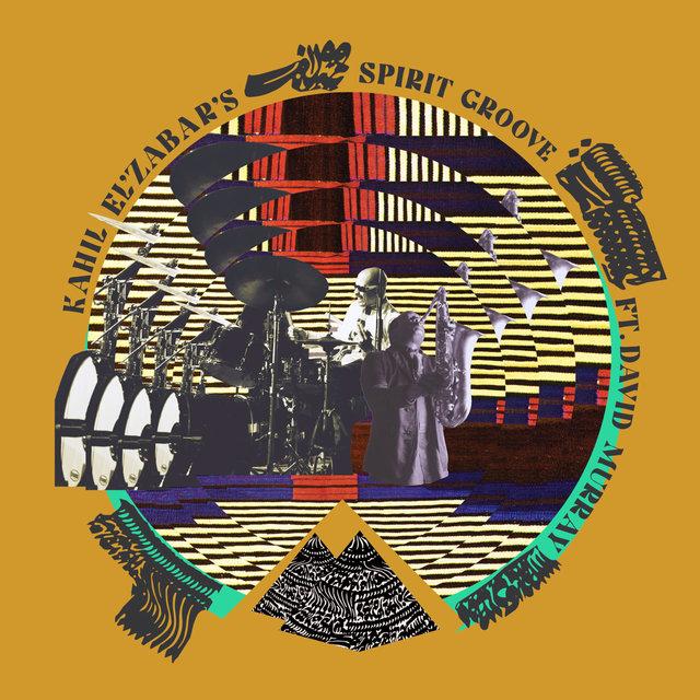 Cover art for album Kahil El'Zabar's Spirit Groove by Kahil El'Zabar, David Murray