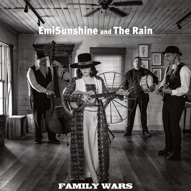 Cover art for album Family Wars by EmiSunshine and The Rain