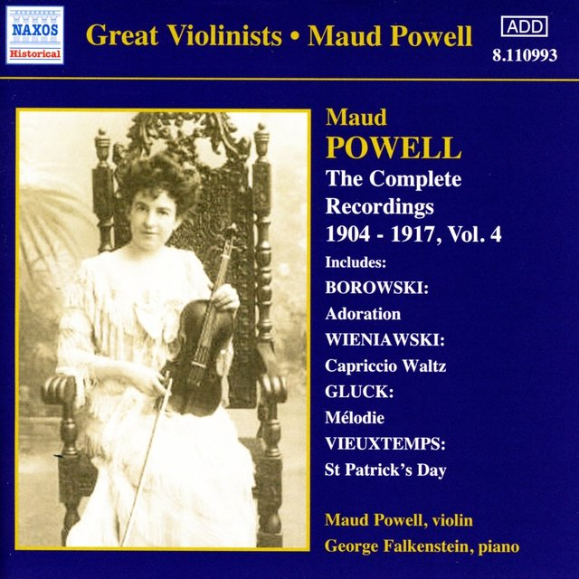 Powell, Maud: Complete Recordings, Vol.  4 (1904-1917)