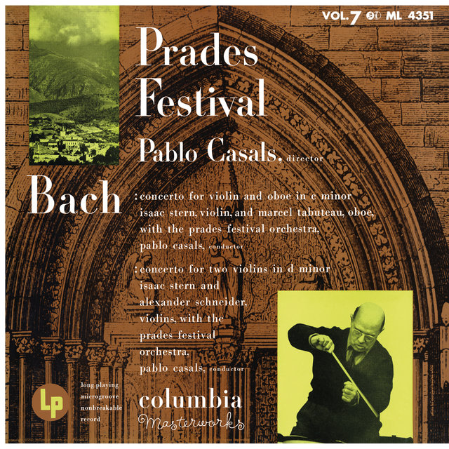 Isaac Stern Plays Bach at the Prades Festival
