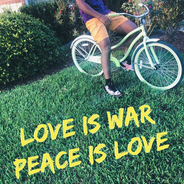 Love Is War Peace Is Love