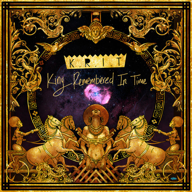 Cover art for album King Remembered In Time by Big K.R.I.T.