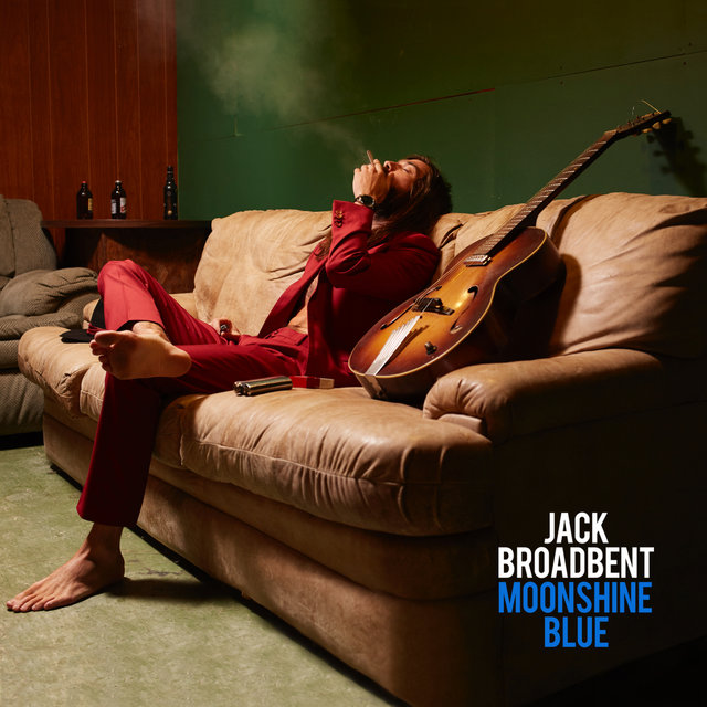 Cover art for album Moonshine Blue by Jack Broadbent