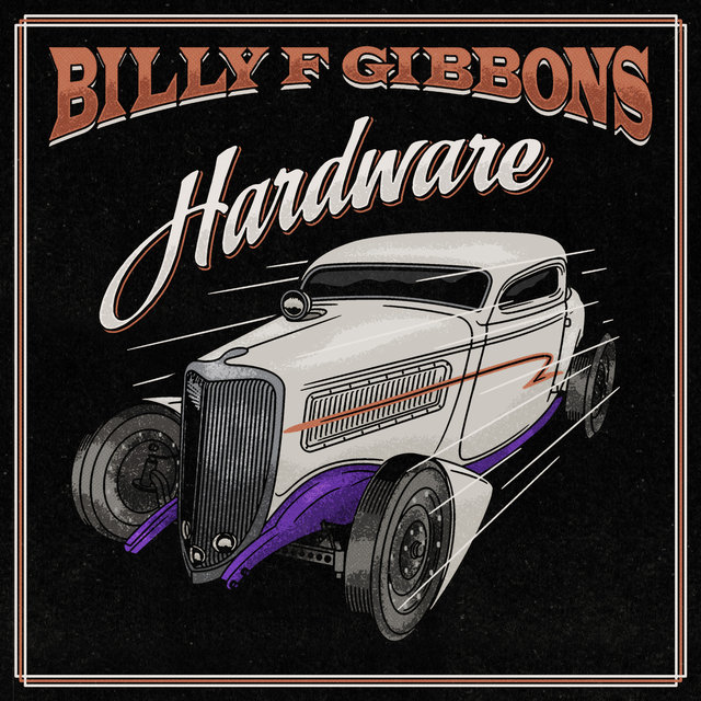 Cover art for album Hardware by Billy F Gibbons