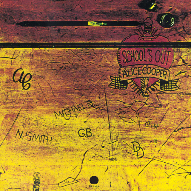 Cover art for album School's Out by Alice Cooper