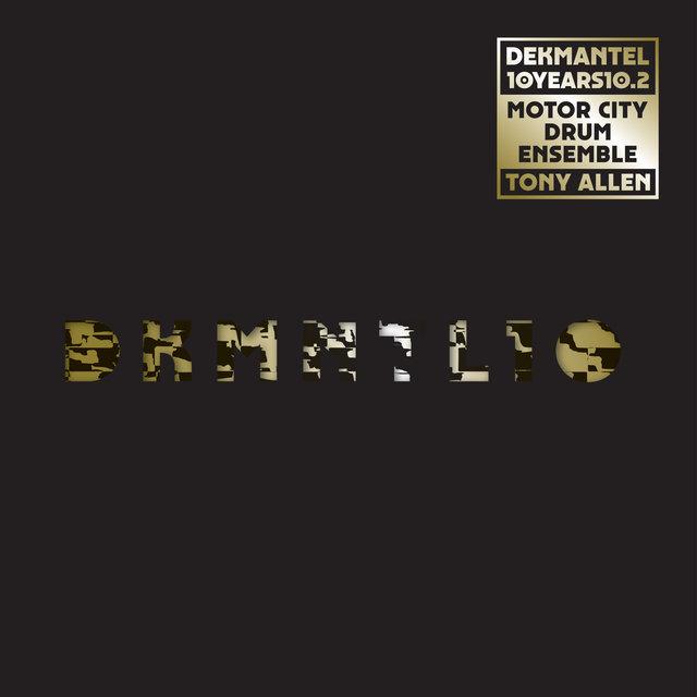 Cover art for album Dekmantel 10 Years 10.2 by Tony Allen, Motor City Drum Ensemble
