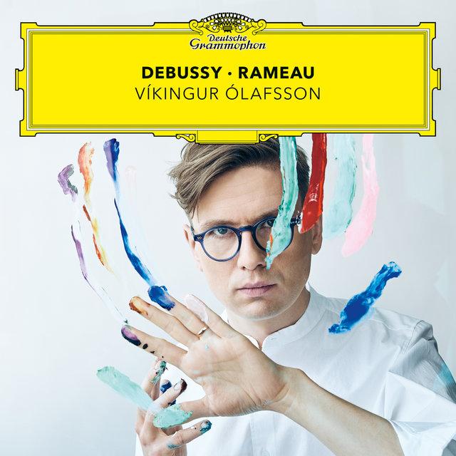 Cover art for album Debussy – Rameau by Víkingur Ólafsson