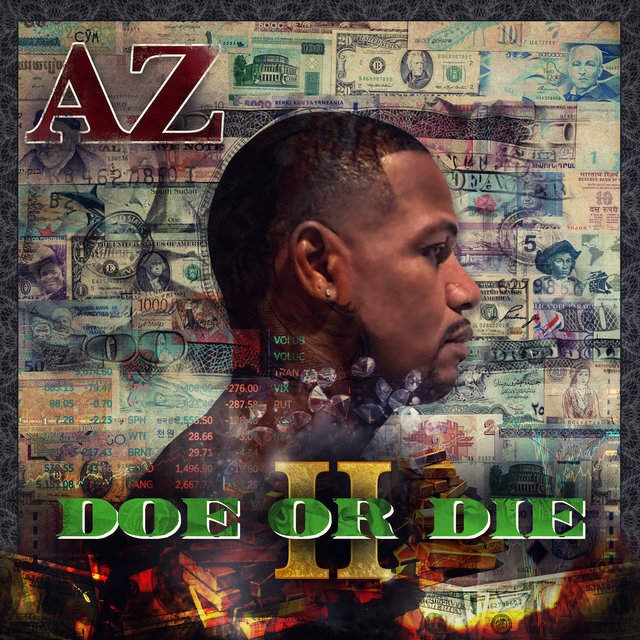 Cover art for album Doe or Die II by AZ