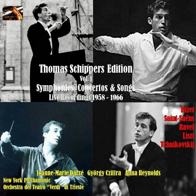 Thomas Schippers Edition, Vol. 1. Symphonies, Concertos & Songs