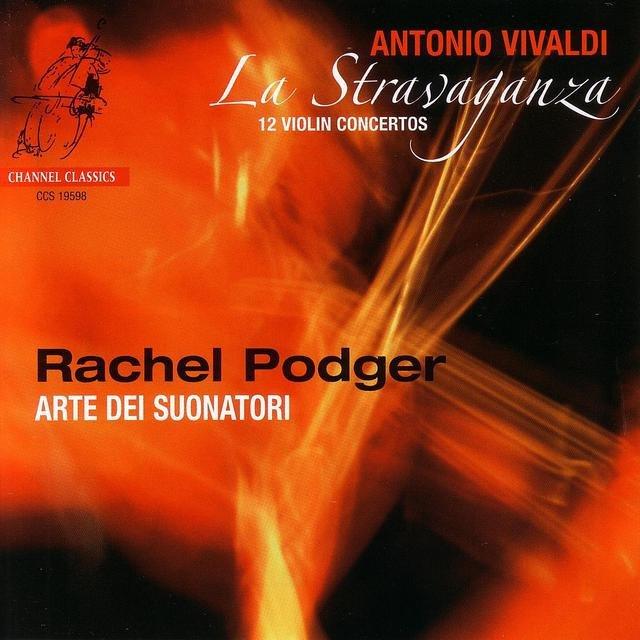 Cover art for album Vivaldi: La stravaganza, 12 Violin Concertos by Rachel Podger