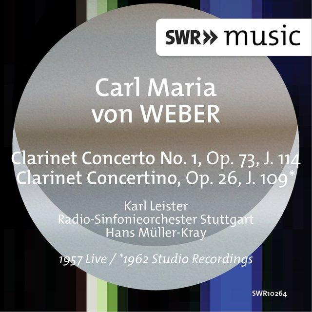 Weber: Clarinet Clarinet Concerto No. 1 in F Minor & Clarinet Concertino in E-Flat Major (Live)