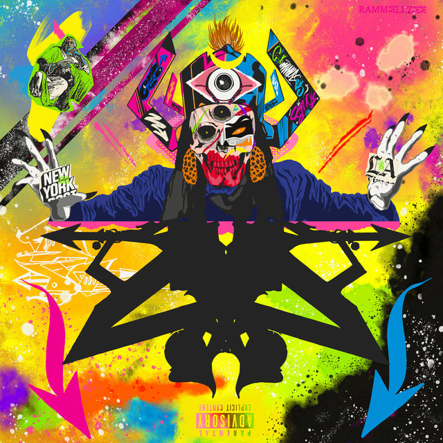 Cover art for album Rammellzee by DJ Muggs, Flee Lord