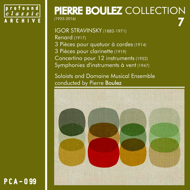 Pierre Boulez Collection, Vol. 7