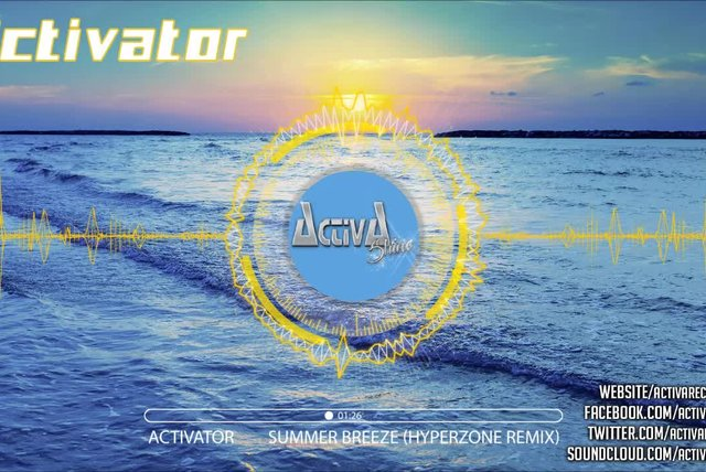 Activator - Summer Breeze (Hyperzone Remix) - Official Preview (Activa Shine)