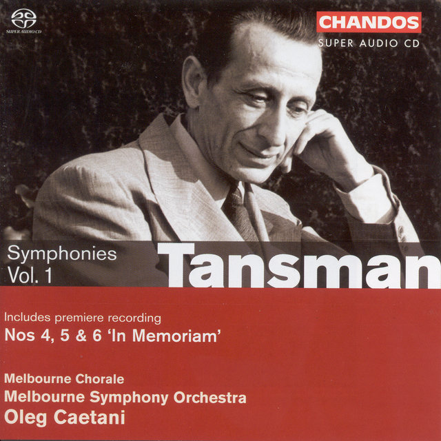 Tansman, A.: Symphonies, Vol. 1 - Nos. 4-6 (The War Years)