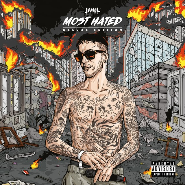 Cover art for album Most Hated (Deluxe Edition) by Jamil