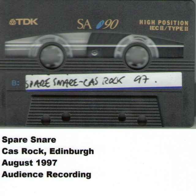 Cas Rock, Edinburgh, August 1997