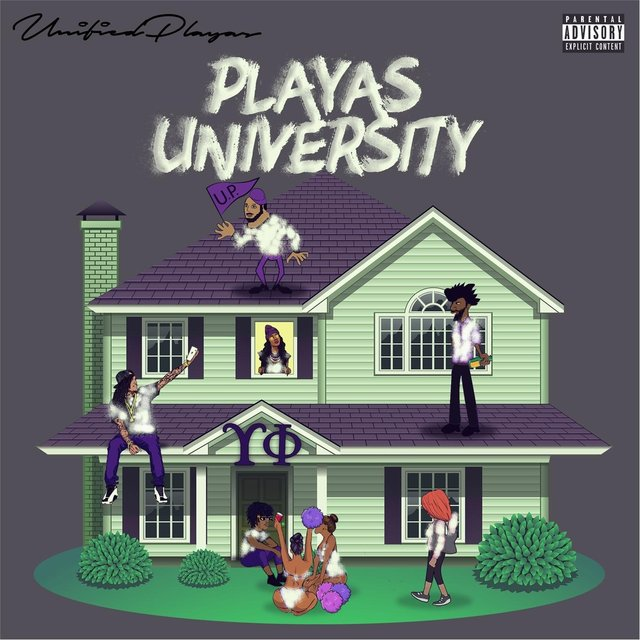 Cover art for album Playas University by Unified Playas