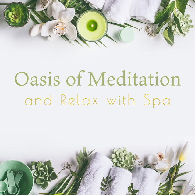 Oasis of Meditation and Relax with Spa - Relax Your Mind and Body During this Calming Instrumental and Nature's Sounds Composition (Tranquil Music)