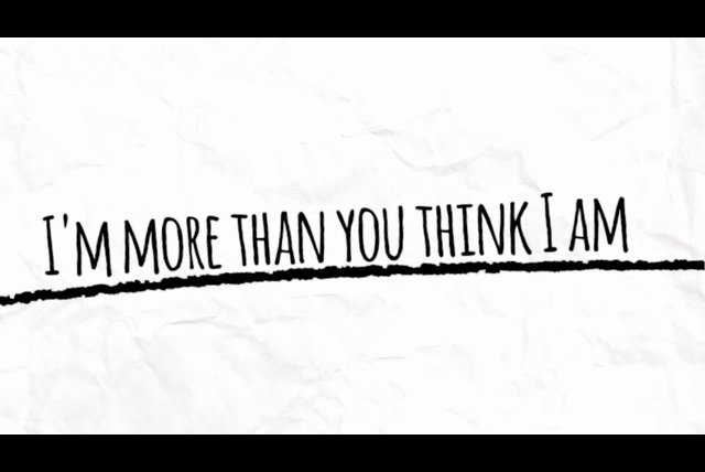 More Than You Think I Am (Lyric Video)