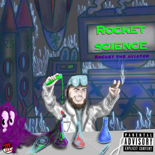 Cover art for album Rocket Science by Rocket the Aviator