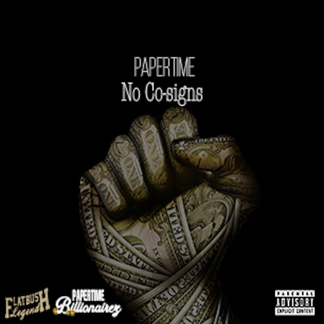 Cover art for album No Co-Signs by Papertime