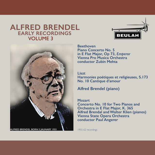 Alfred Brendel Early Recordings, Vol. 3