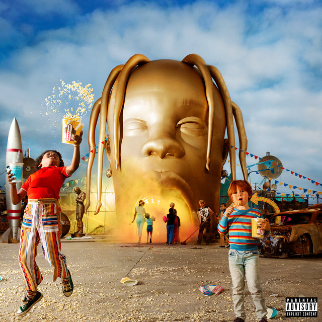 Cover art for album ASTROWORLD by Travis Scott