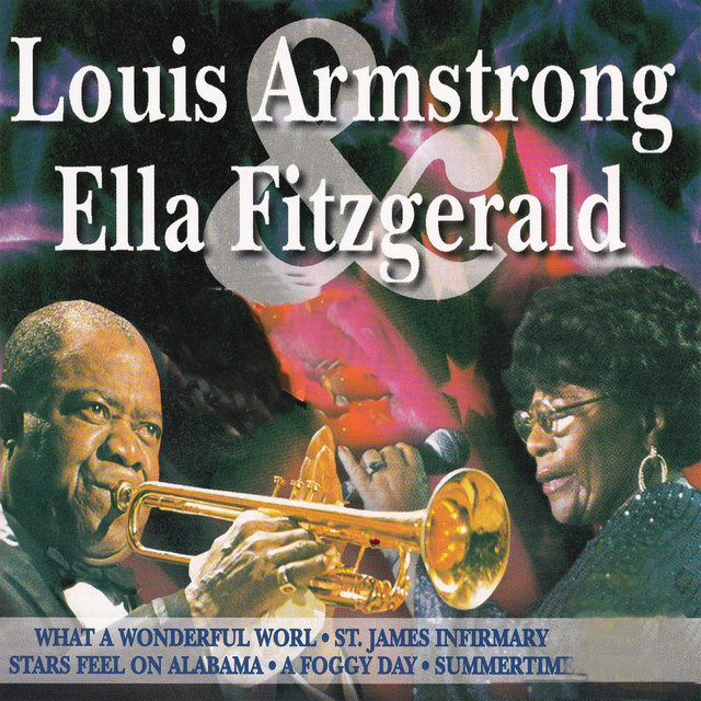Cover art for album  by Louis Armstrong, Ella Fitzgerald