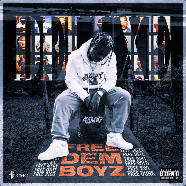 Cover art for album Free Dem Boyz (Deluxe) by 42 Dugg
