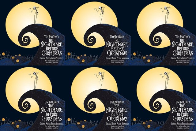 Cover art for album The Nightmare Before Christmas! by User
