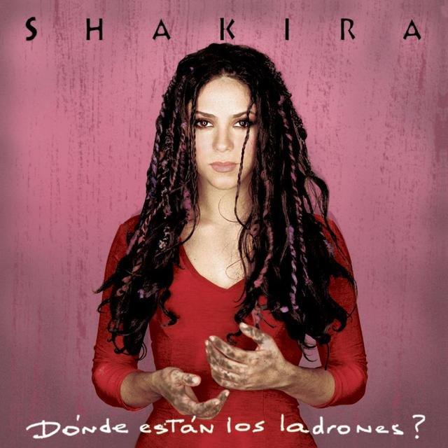 Cover art for album Donde Estan Los Ladrones by Shakira