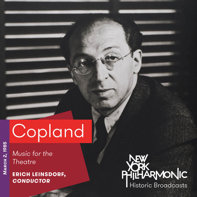 Copland: Music for the Theatre (Recorded 1985)
