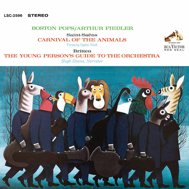 Saint-Saens: Carnival of the Animals - Britten: The Young Person's Guide to the Orchestra, Op. 34