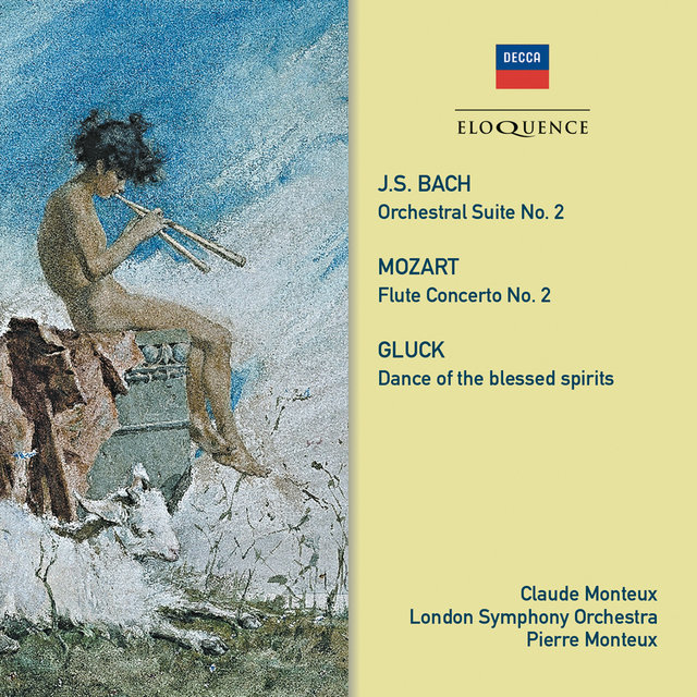 Bach, Gluck, Mozart: Music For Flute & Orchestra