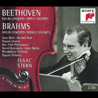 Beethoven/Brahms: Violin Concertos; Double Concerto; Triple ConcertoIsaac  Stern