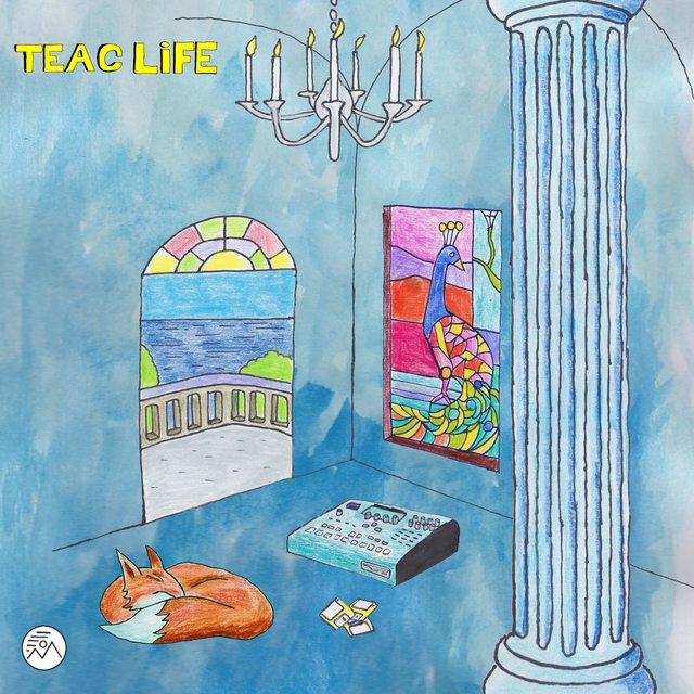 Cover art for album TEAC Life by Legowelt