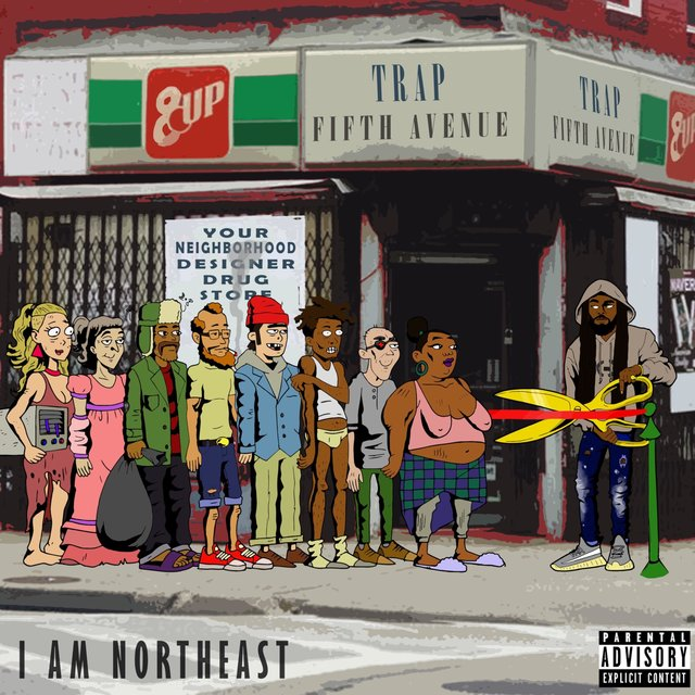 Cover art for album Trap Fifth Avenue by I Am Northeast