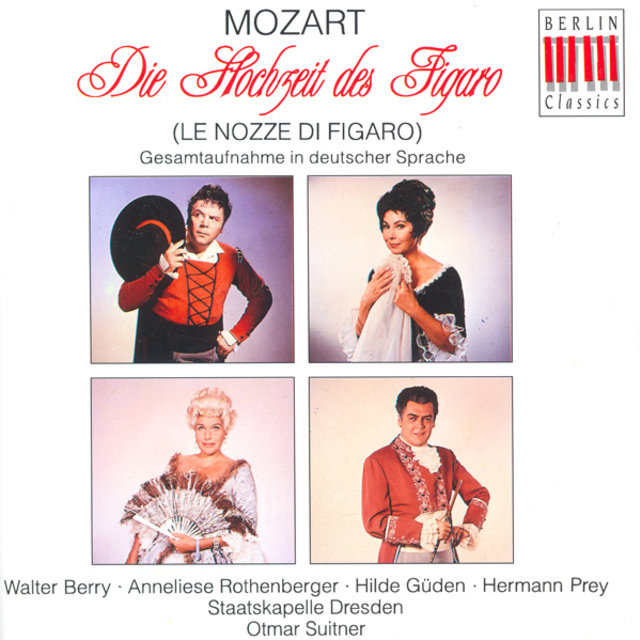 Wolfgang Amadeus Mozart: Nozze di Figaro (Le) [The Marriage of Figaro] [Opera] [Suitner]