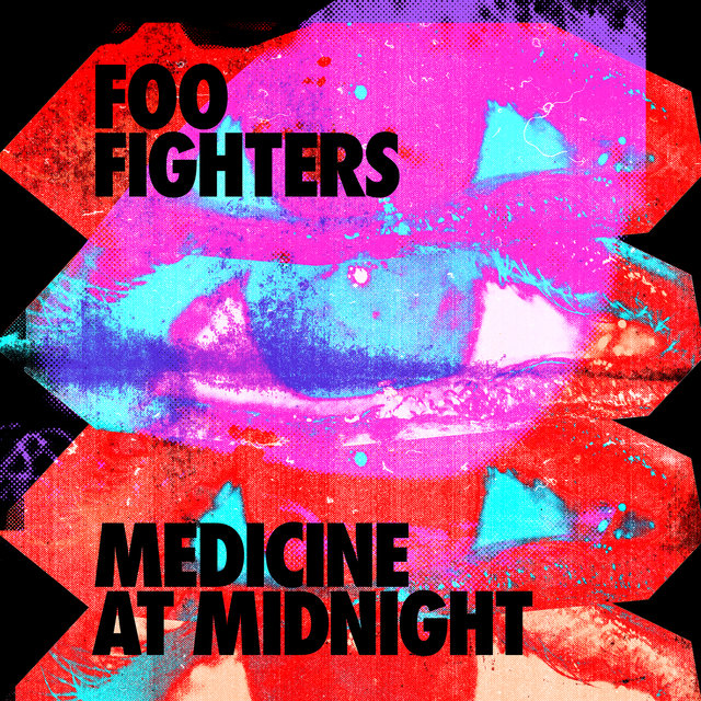 Cover art for album Medicine At Midnight by Foo Fighters