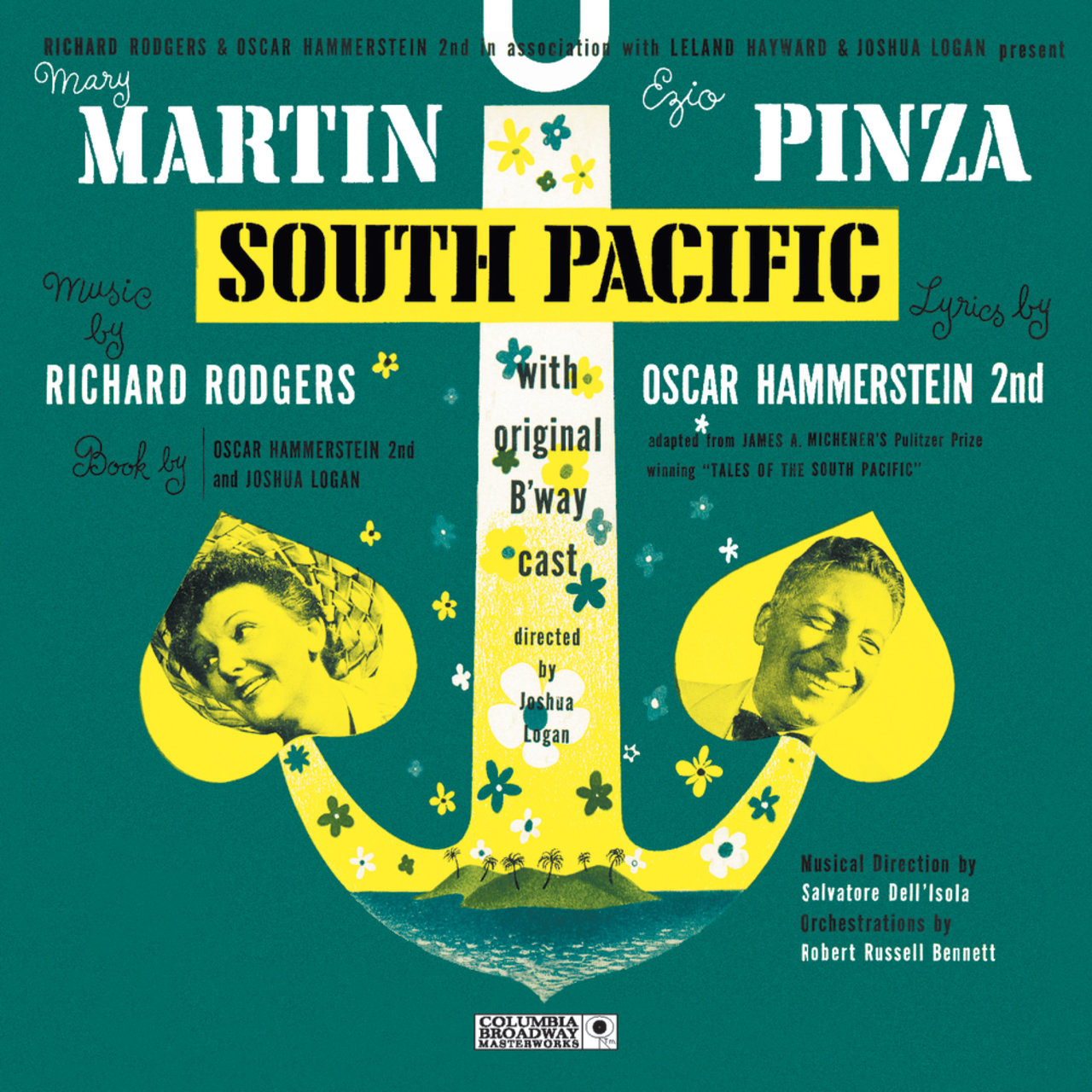 South Pacific Original Broadway Cast Recording Original - Tales of the south pacific