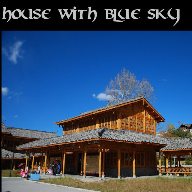 House with Blue Sky