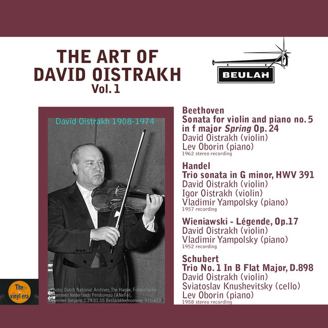 The Art of David Oistrakh, Vol. 1