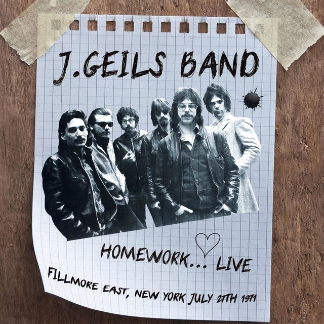 Homework... Live (Fillmore East, New York July 27th 1971)