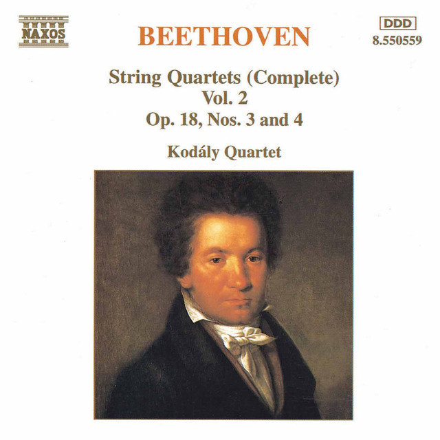 Beethoven: String Quartets Op. 18, Nos. 3 and 4