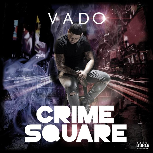 Cover art for album Crime Square by Vado