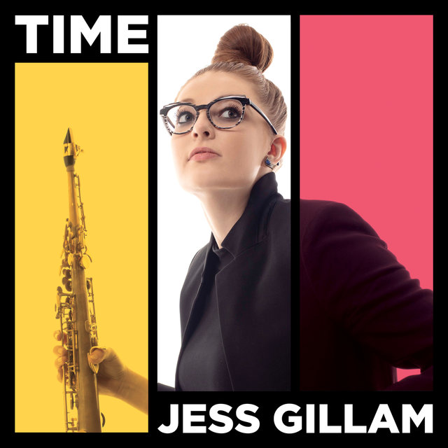 Cover art for album TIME by Jess Gillam